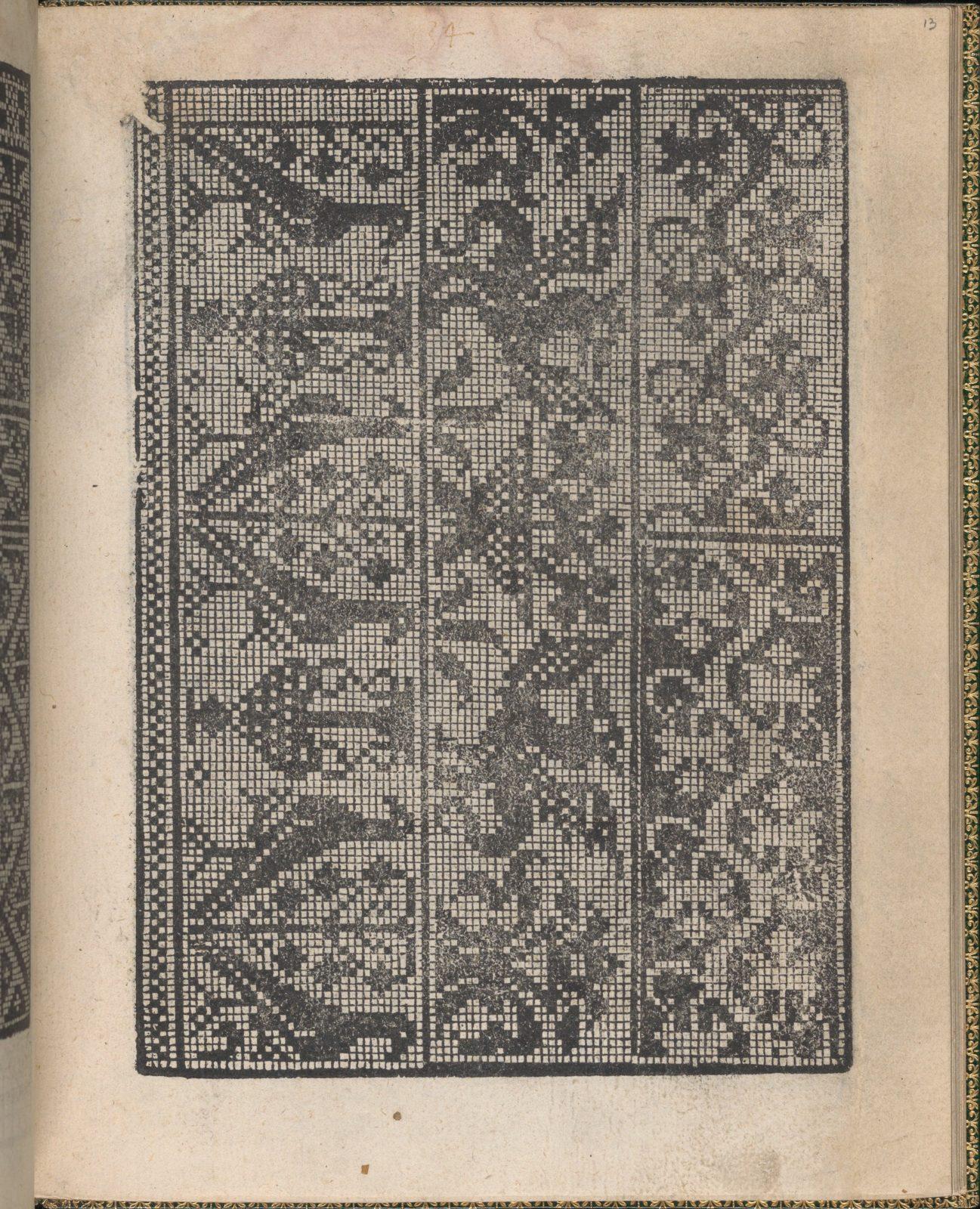 Ornamento delle belle & virtuose donne, page 7 (verso)
