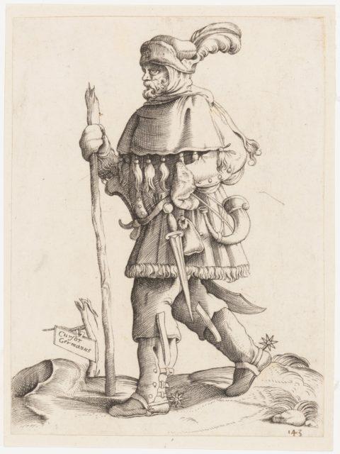 Costume Plate: German Messenger