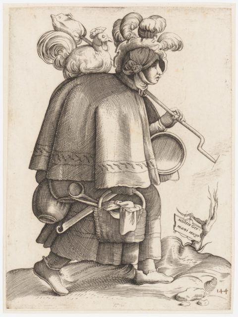 Costume Plate: Wife of a Warrior from Germany