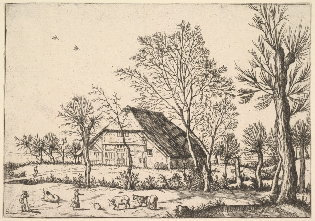 Farm, from The Small Landscapes