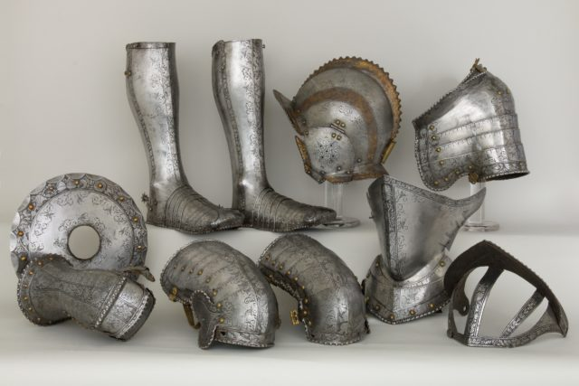 Elements of an Armor Garniture