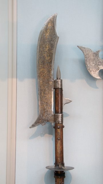 Glaive, probably of August I (reigned 1553–86)