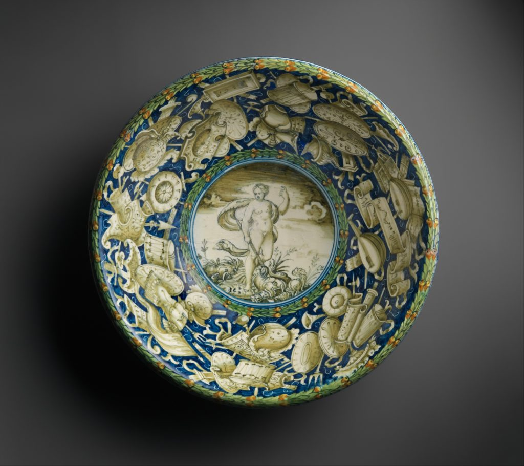 Bowl with Allegory of Peace