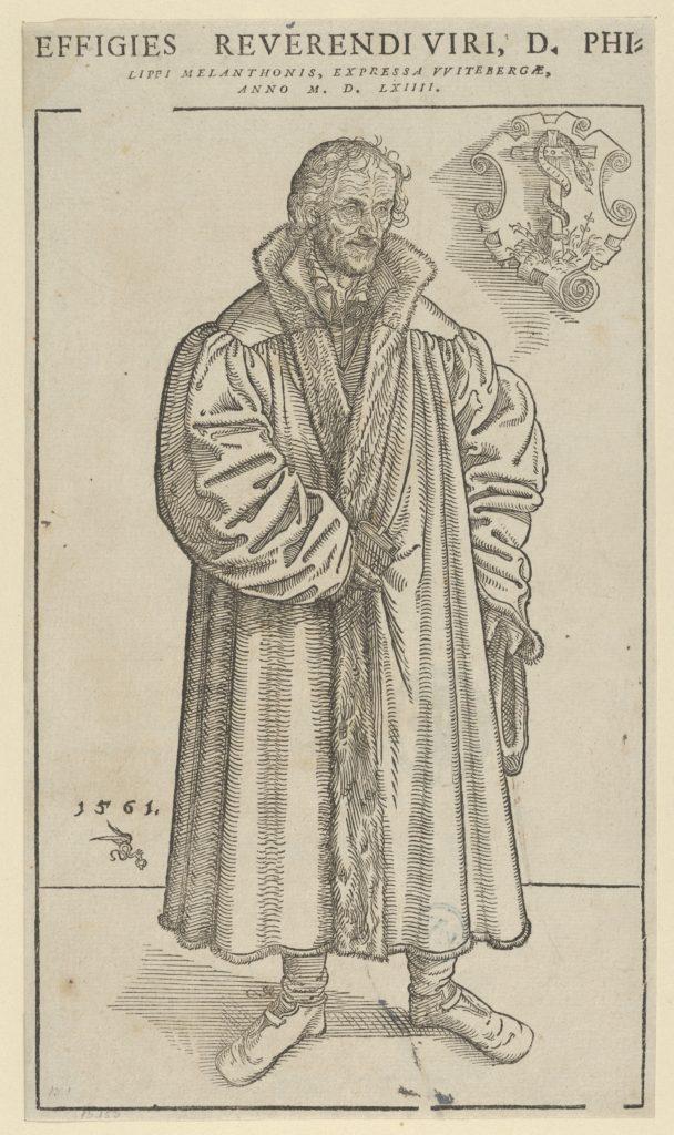 Philip Melanchthon, Full-Length Towards the Right