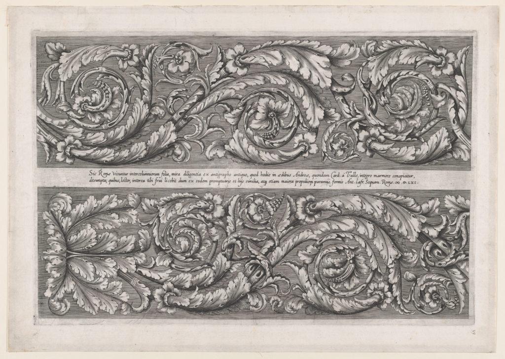 Speculum Romanae Magnificentiae: Della Valle Frieze
