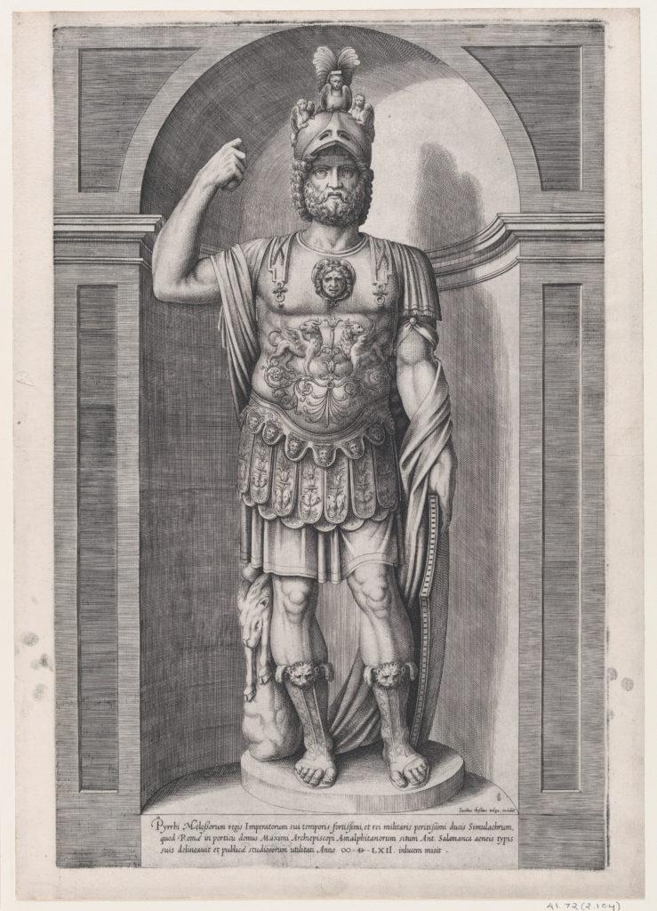 Speculum Romanae Magnificentiae: King Pyrrhus