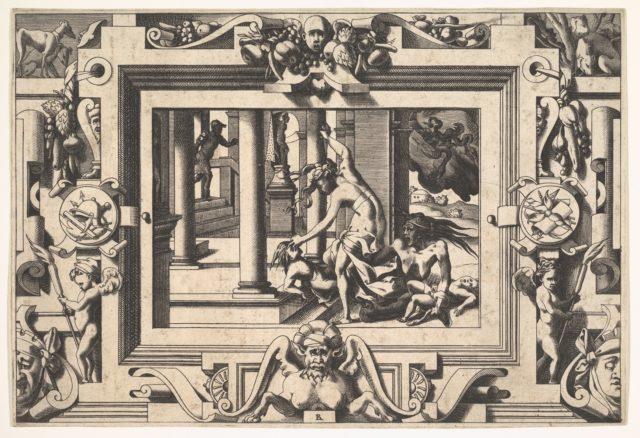 Medea kills the two children she had by Jason: Histoire de Jason et de la conquête de la toison d'or.