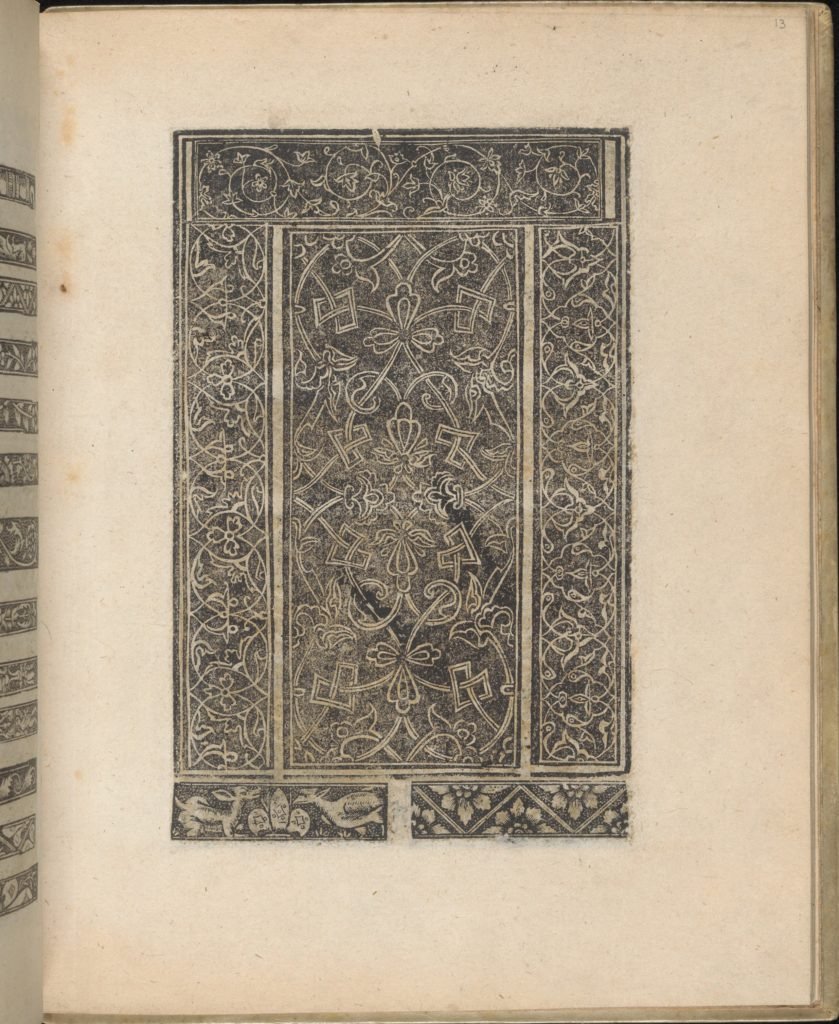 Trionfo Di Virtu. Libro Novo..., page 13 (verso)