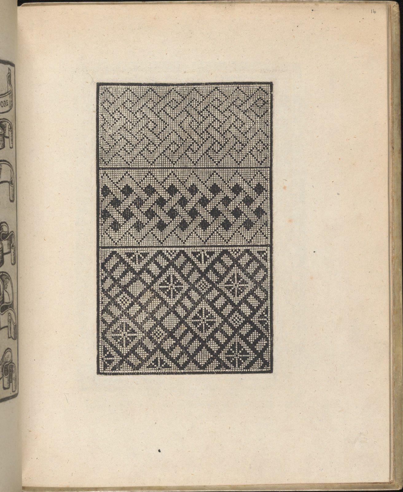 Trionfo Di Virtu. Libro Novo..., page 16 (verso)