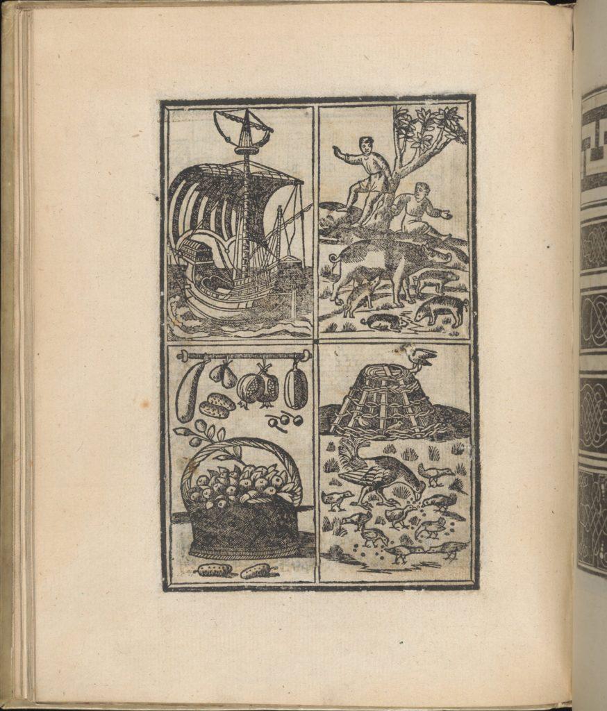 Trionfo Di Virtu. Libro Novo..., page 18 (recto)
