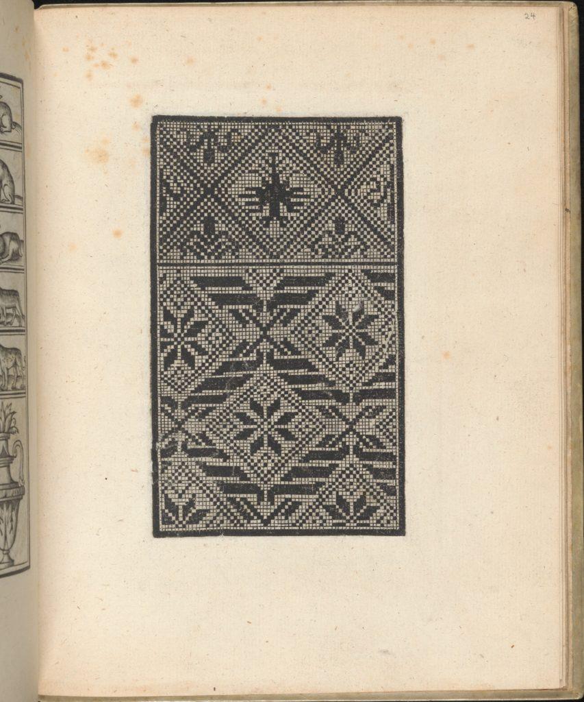 Trionfo Di Virtu. Libro Novo..., page 24 (verso)