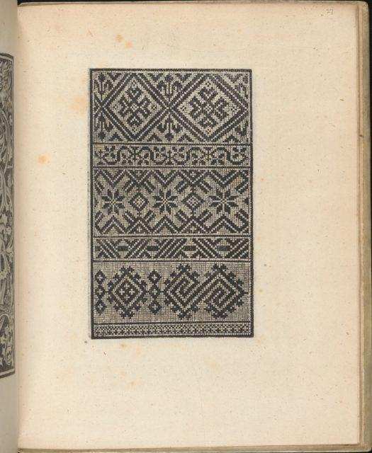 Trionfo Di Virtu. Libro Novo..., page 27 (verso)