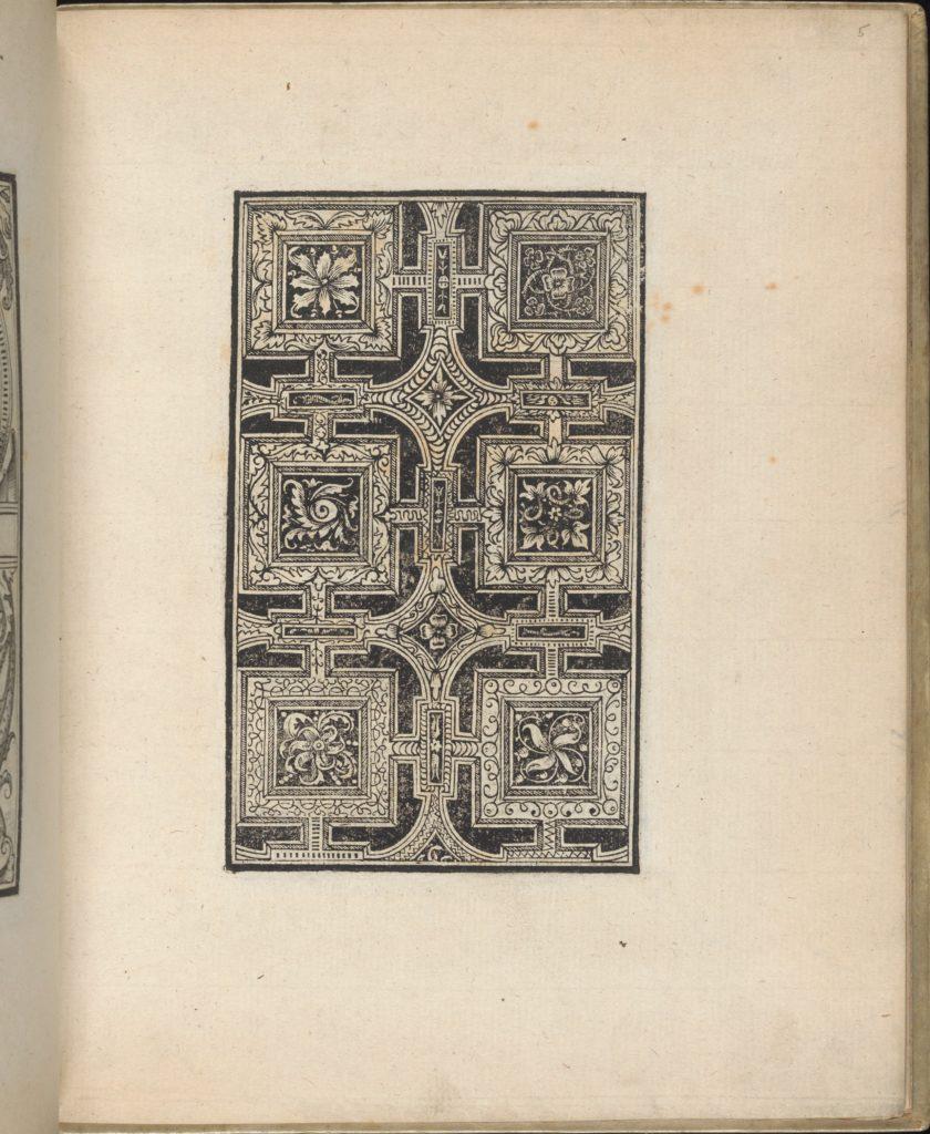 Trionfo Di Virtu. Libro Novo..., page 5 (recto)