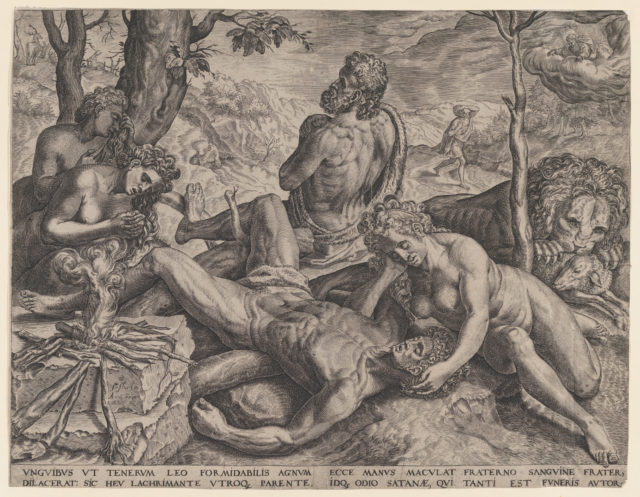 Adam and Eve Lamenting the Death of Abel