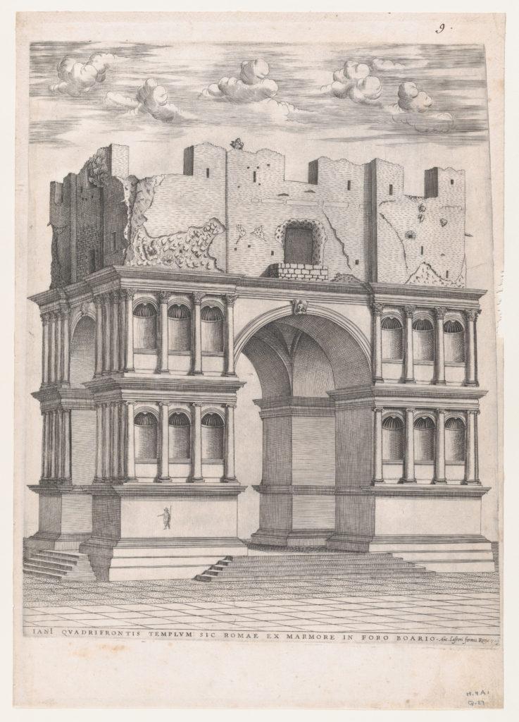 Speculum Romanae Magnificentiae: Temple of Janus