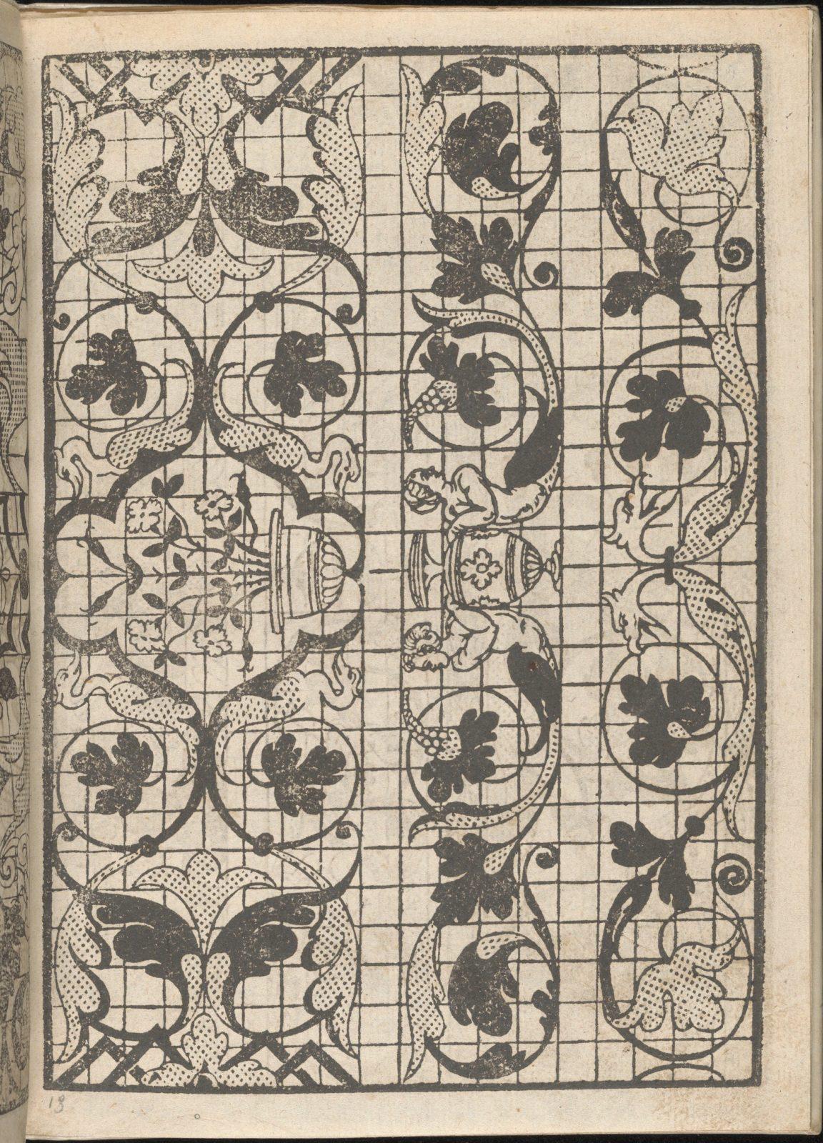 Splendore delle virtuose giovani, page 13 (recto)