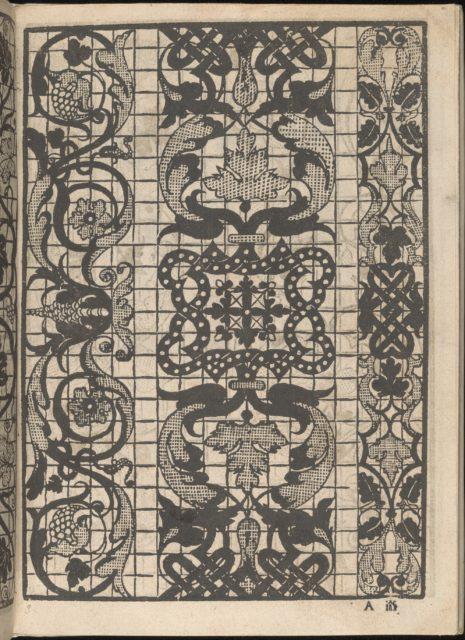 Splendore delle virtuose giovani, page 2 (recto)