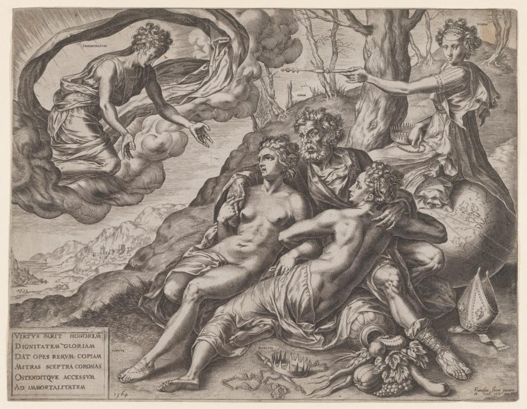 The Immortal Rewards of Virtue
