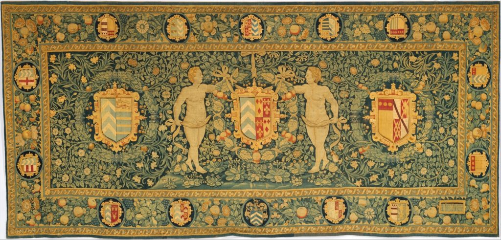 The Lewknor Armorial Table Carpet