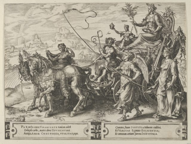 The Triumph of Peace, from The Cycle of the Vicissitudes of Human Affairs, plate 8