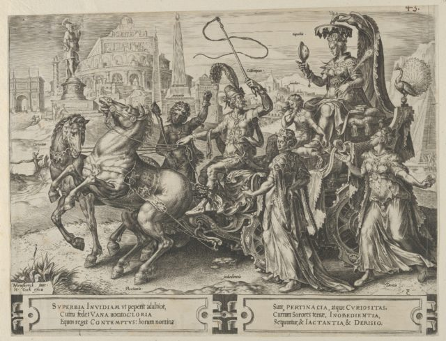 The Triumph of Pride, from The Cycle of the Vicissitudes of Human Affairs, plate 3