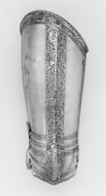 Elements of an Armor Garniture Made for Henri I de Montmorency (1534–1614), Comte de Damville and Constable of France