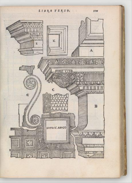 Libro primo (-quinto, estraordinario) d'architettura