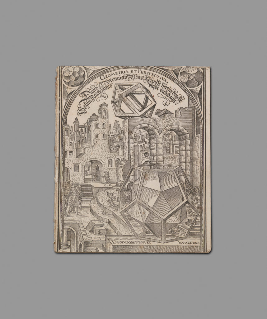Cover Page from Geometria et Perspectiva