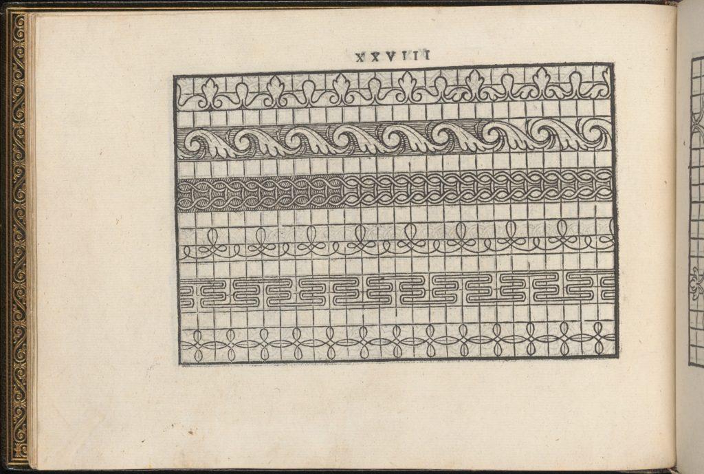 La Vera Perfettione del Disegno di varie sorti di recami, page 14 (verso)
