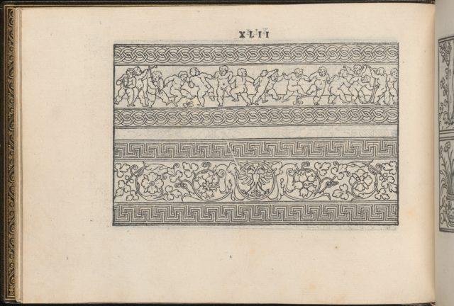La Vera Perfettione del Disegno di varie sorti di recami, page 21 (verso)