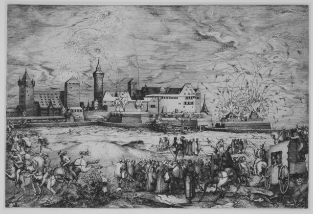 Entry of Maximilian II into Nuremberg, June 7, 1570