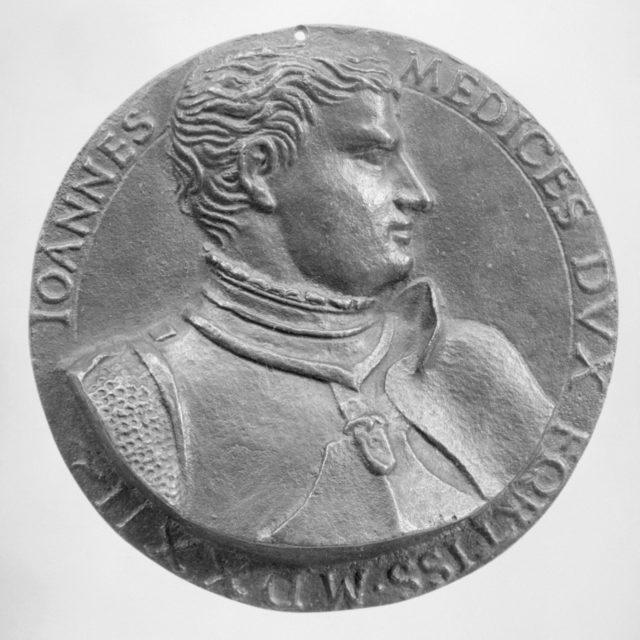 Giovanni de'Medici della Bande Nere (1498–1526), a Celebrated Condottiere, and Father of Cosimo I