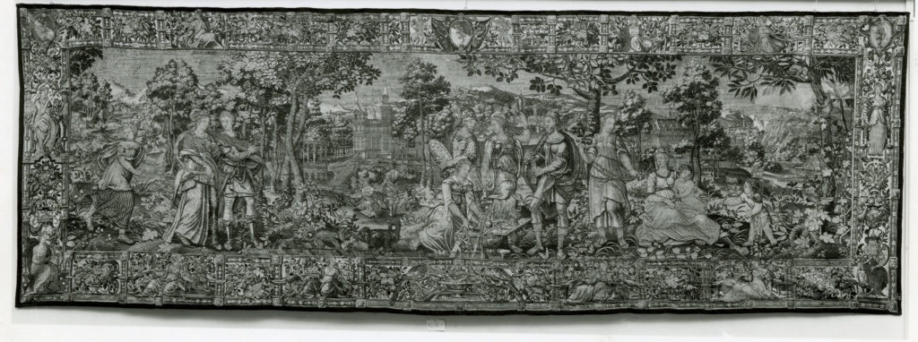 The Romans with their Sabine Wives from the Story of the Romans and the Sabines