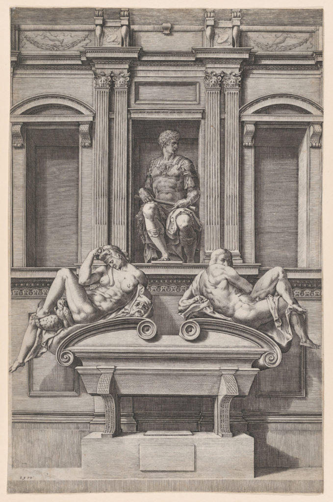 The Tomb of Giuliano de' Medici from The Tombs of the Medici
