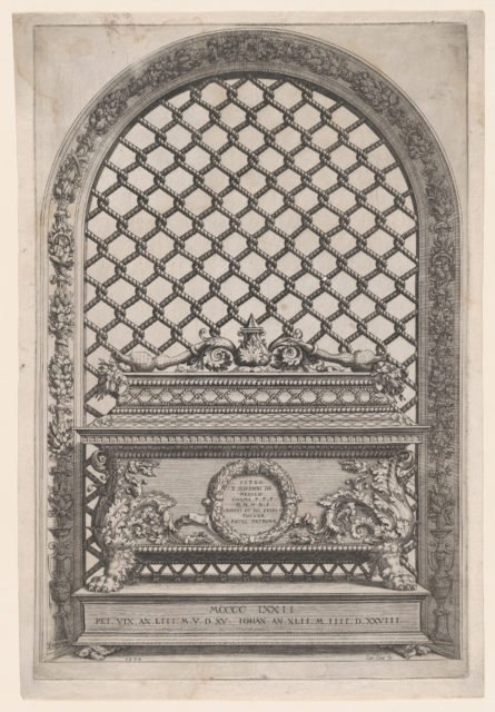 The Tomb of Pietro and Giovanni de' Medici from The Tombs of the Medici