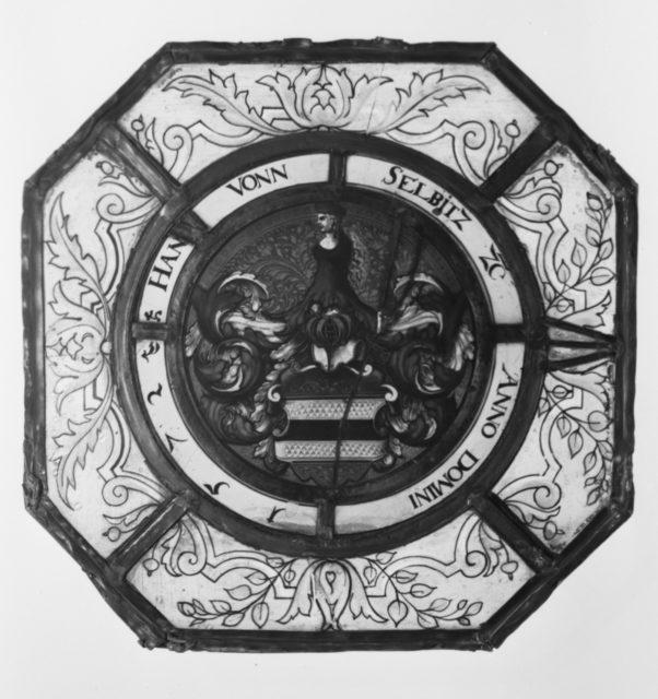 Arms of Hans von Selbitz
