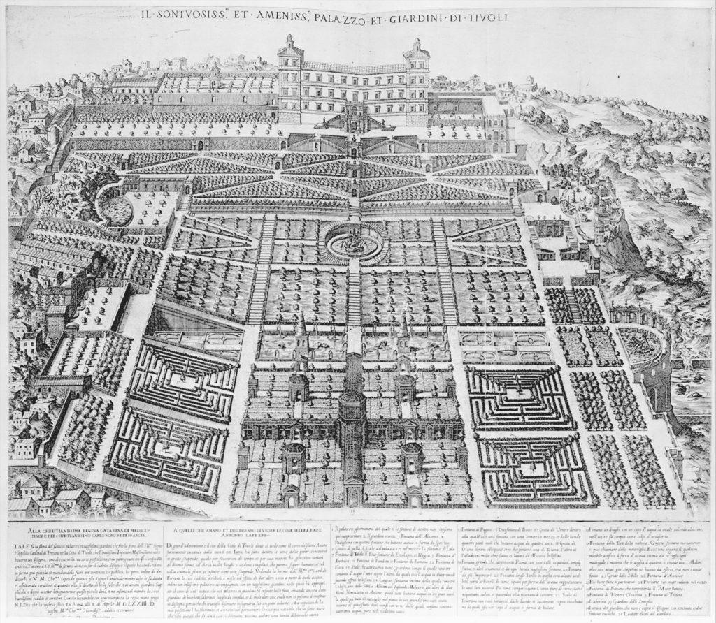 Speculum Romanae Magnificentiae: Tivoli Palace and Gardens