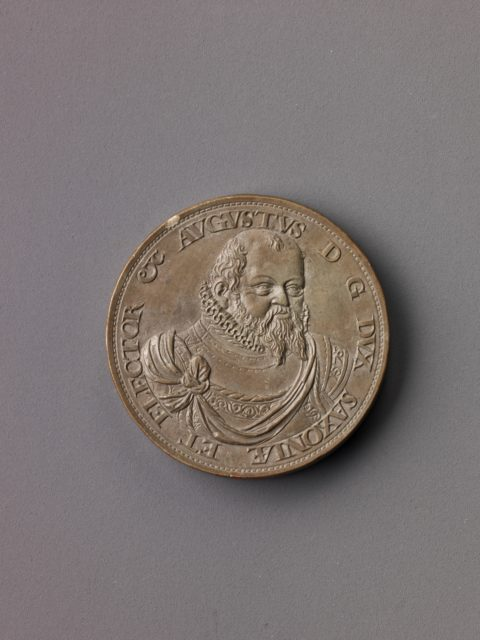 Model for a portrait medal of Augustus, Elector of Saxony