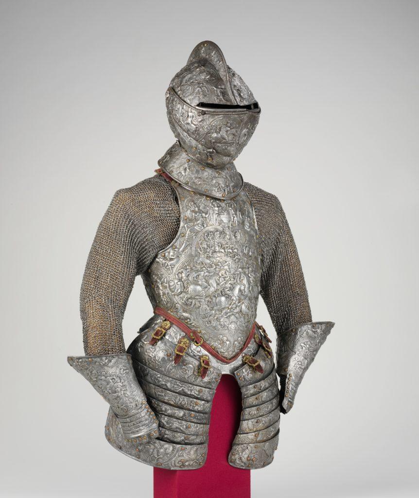 Portions of a Ceremonial Armor