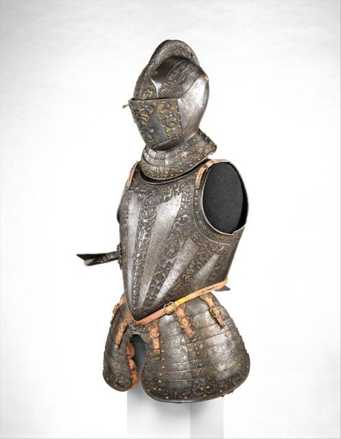 Portions of a Parade Armor