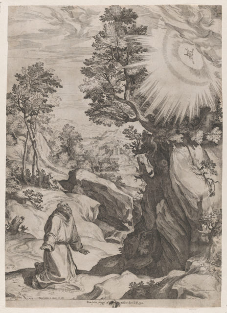 St Francis Penitent in the Wilderness