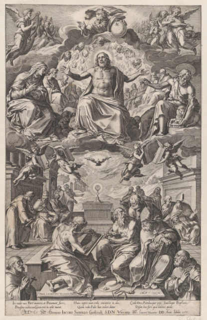 The Dispute of the Church Fathers over the Holy Sacrament