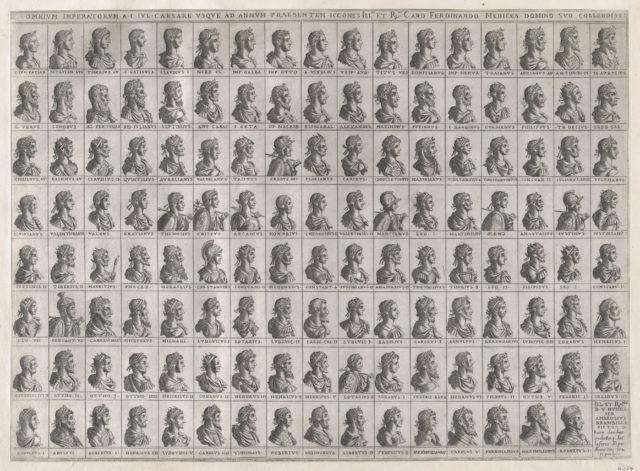 Speculum Romanae Magnificentiae: Portraits of the Emperors from Julius Caesar to Rudolf II
