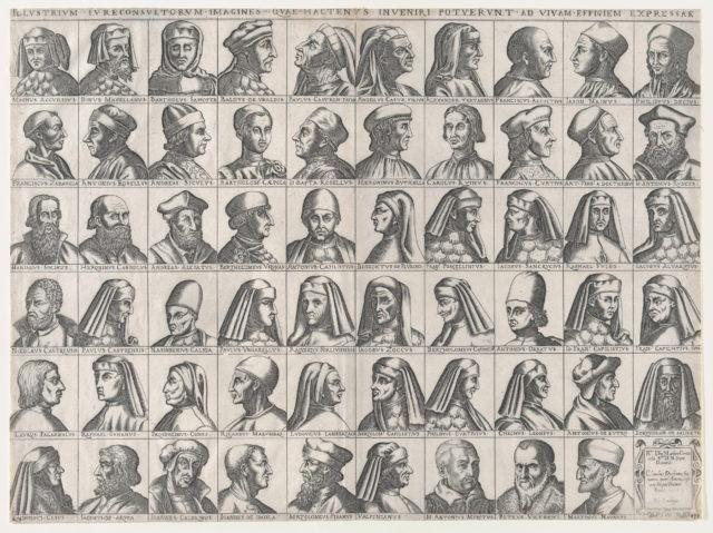 Speculum Romanae Magnificentiae: Portraits of Roman Jurisconsults