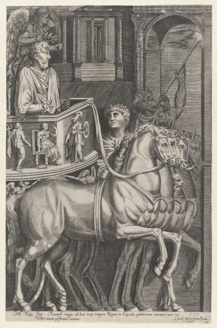 Speculum Romanae Magnificentiae: Triumph of Marcus Aurelius