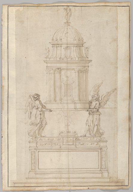 Design for the Tabernacle of the Sistine Chapel in the Santa Maria Maggiore in Rome