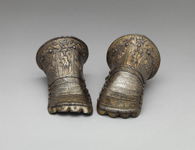 Pair of Gauntlets for a Child