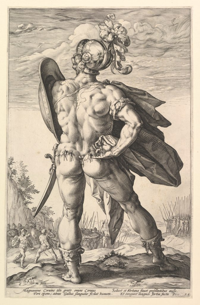 Marcus Valerius, from the series The Roman Heroes