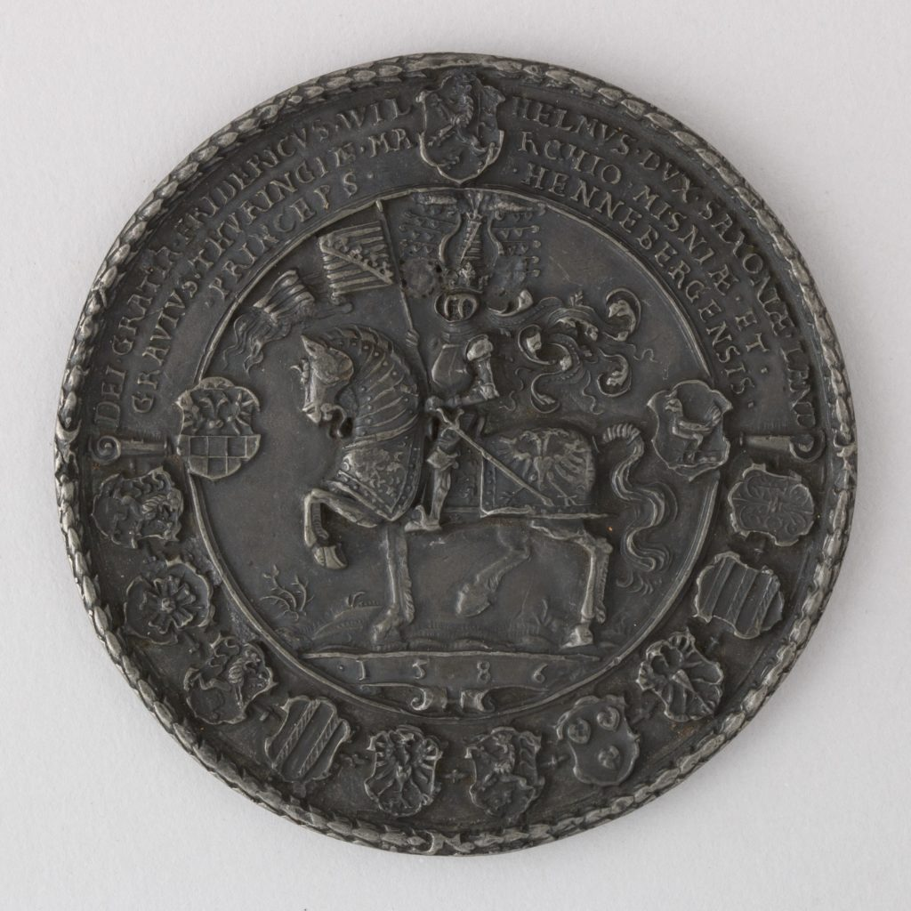 Seal of Frederick William, Duke of Saxony