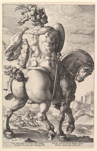 Titus Manlius Torquatus, from the series The Roman Heroes
